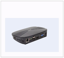ARM fanless pc thin client FL600 station, Online video play from Server by RDP8.0.