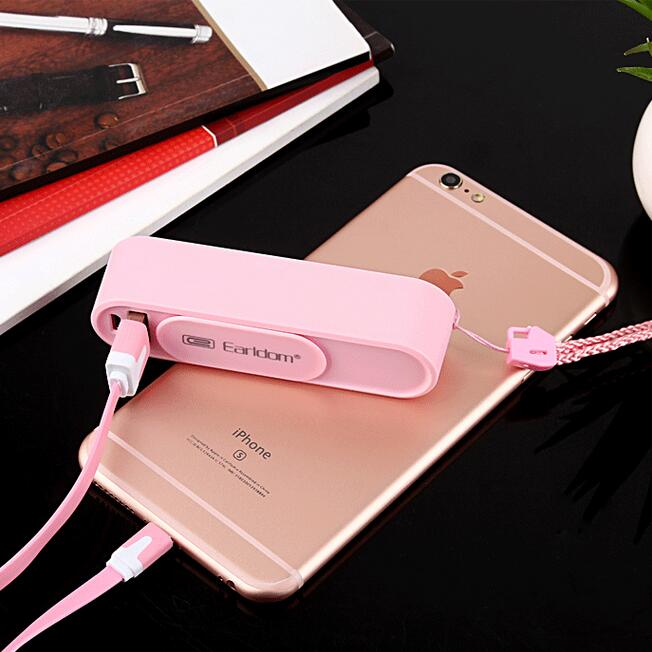 Portable Mini 18650 Battery Mobile Phone Charger For Xiaomi Samsung Perfume 2600mAh Power Bank