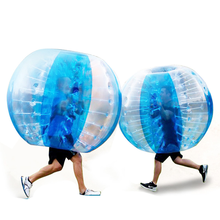 1.0m Dia PVC human inflatable bumper bubble ball,adult bumper ball,inflatable body bumper ball for adult