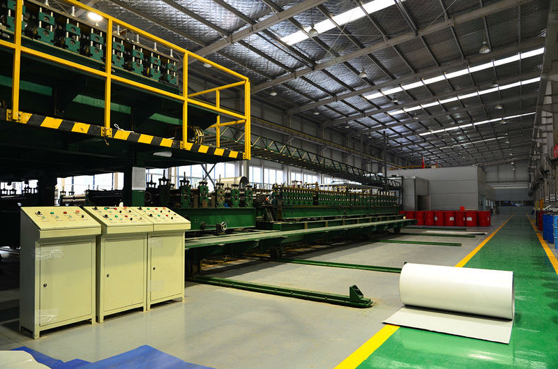 roll forming machine for wall / roof / cold room / door panel