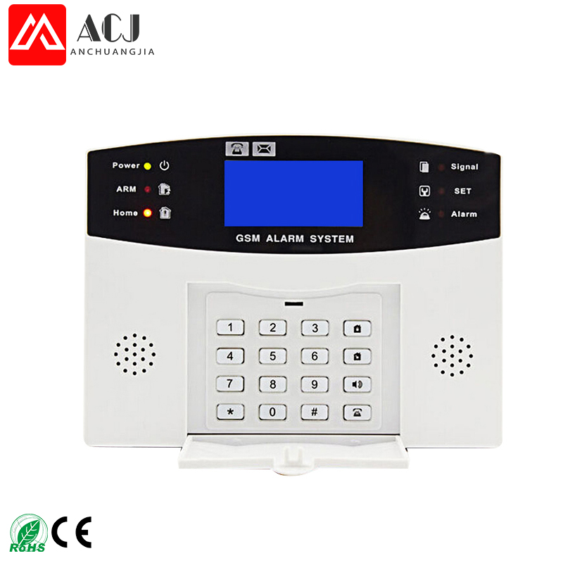 <strong>GSM</strong> 99+8 zone wireless alarm system for home