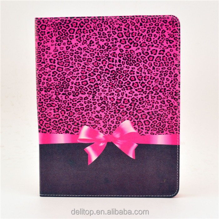 High Quality Painting Pattern Flip Stand Leather Case Folio Smart Cover For Apple iPad 2 3 4