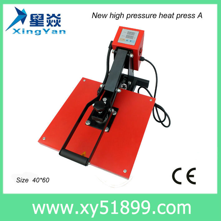 European Style China <strong>Manufacture</strong> Prior 40x60cm Dye Sublimation Transfer Lanyard Heat Stamping Machine