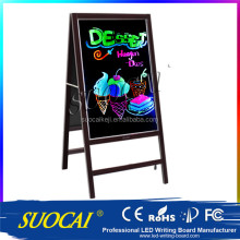 Electronics Wooden Chalkboard With Stand From China
