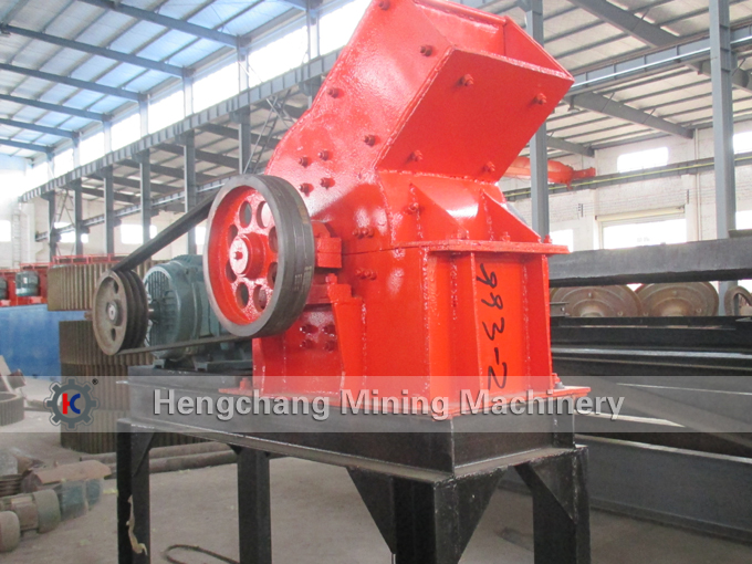 Industrial hammer mill, Small capacity ore hammer mill
