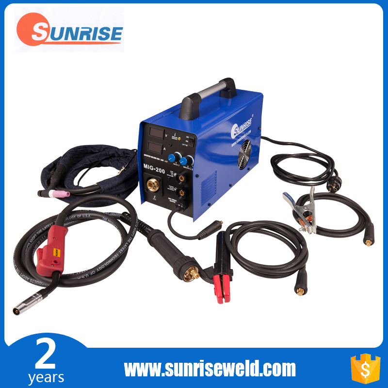 Low Price pulse and double MIG / MMA Welding Machine for Car Wrapping