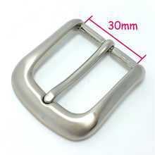 Manufacturer 30mm metal silver pin belt buckles women