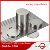 super strong disc Neodymium N33 Magnet for dc servo motor