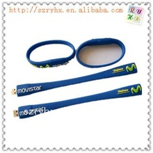 hot sale bracelet usb disk with real capacity