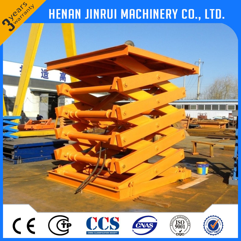 Electric Foot Pump Materials Handling Portable Lift Platform