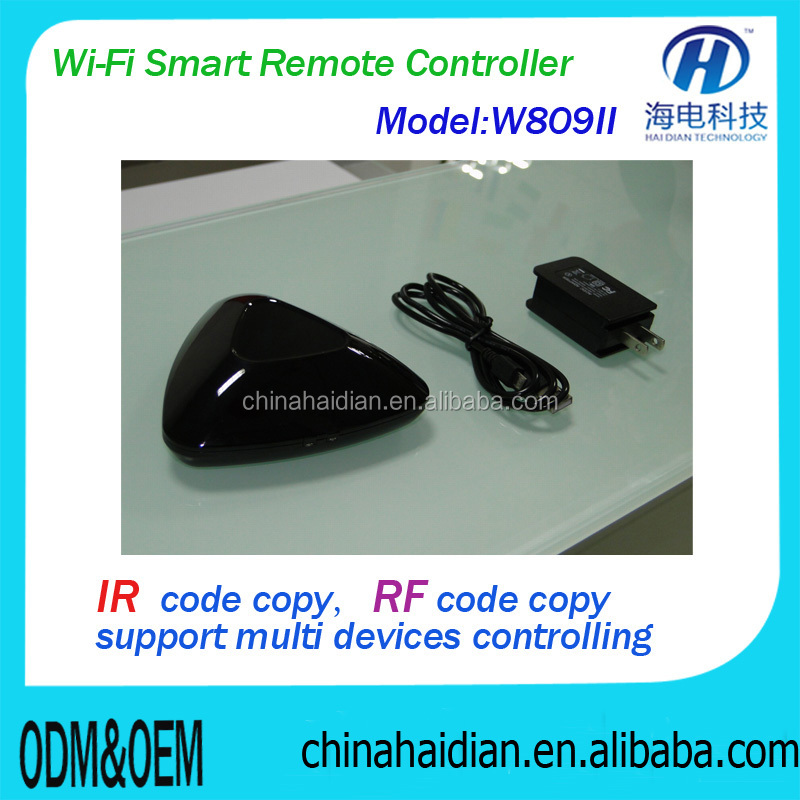 WiFi to RF & infrared EU UK standard universal wireless remote control