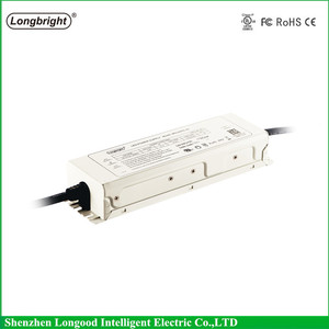 Longbright manufacturer 6KV surge protection IP67 metal enclosure constant current 150w 200w waterproof led power supply