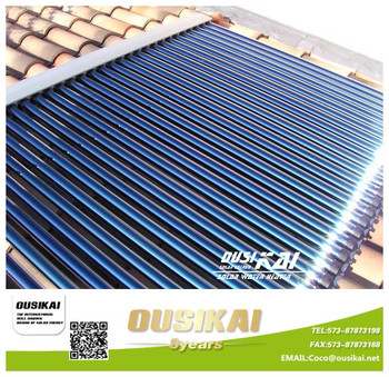 12tubes solar collector for solar swimming pool heating from China manufacturer