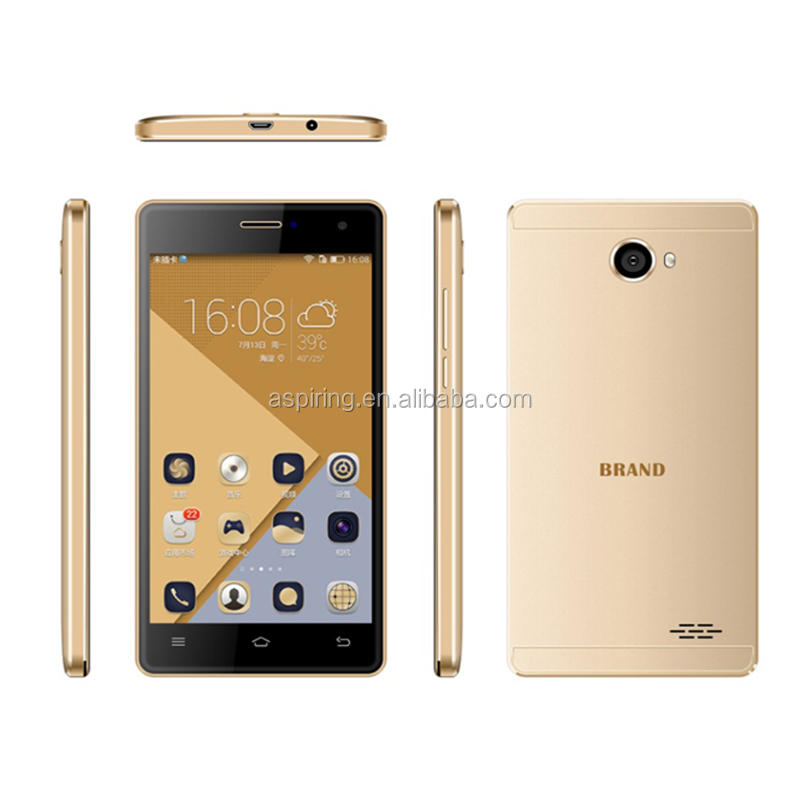 "Quad Core MTK6580 5.5"" Android 5.1 1280*720 Dual SIM 3G WCDMA unbranded mobile phone"