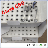 Glass bud tank atomizer bud cartomizer 0.4/0.5/0.8/1.0 ml OEM is welcome
