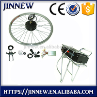 Hot sale factory direct price 36v 250w hub motor electric bicycle kit with battery With Promotional Price