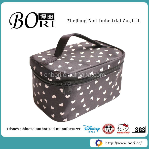 2017 soft rolling makeup trolley case