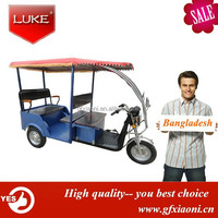 48V 850W passenger auto electric rickshaws electric tricycles india market