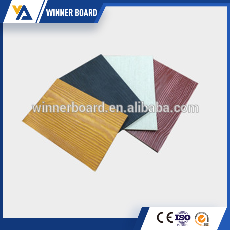 Factory Popular originality green fiber cement hardi board siding with workable price