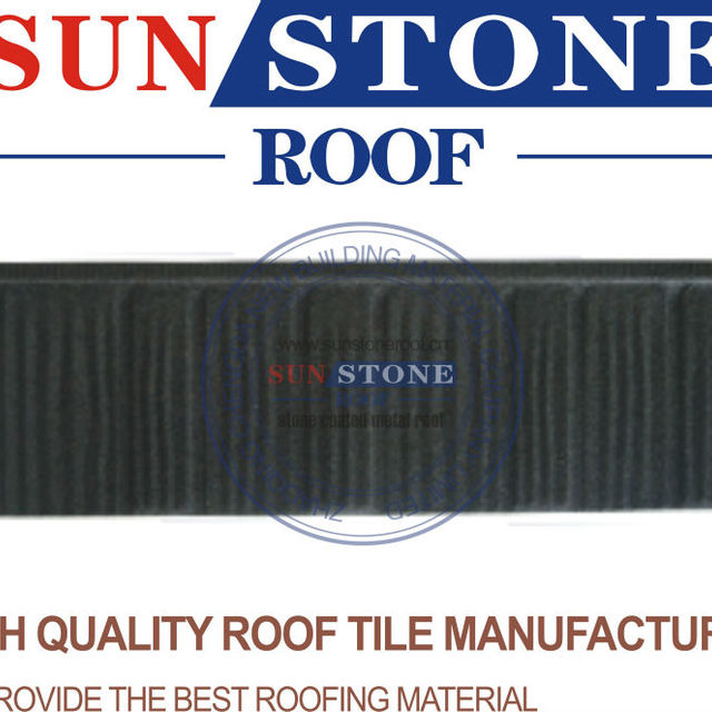 2013 Colorful Sunset Red Roofing Wood Shingle