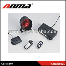 Professional factory of manual two way car alarm system car voice warning alarm