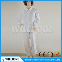 best seller cleanroom antistatic esd divided suits