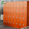 Fumeihua 4 doors staff changing room locker with digital locker