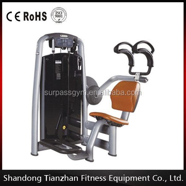 belly exercise TZ-6037 abdominal crunch machine