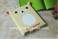 vert cute silicone case for ipad 2
