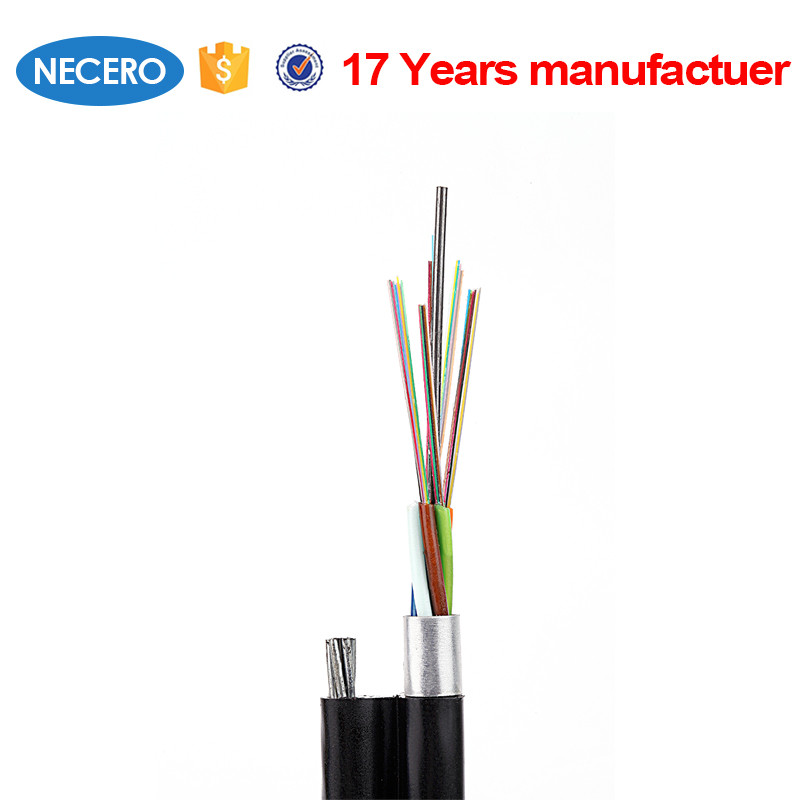 96 Core armored Aerial fiber optic cable GYTC8A