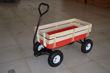 Pneumatic Power Source Children Kids wagon Garden Cart