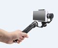 FeiyuTech black gimbal SPG 3 axis rain-proof handheld smartphone gimbal with joystick , compatibel for iphone samsung gopr o