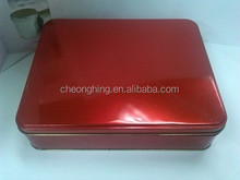 Amazing Big square tin box for food and gift
