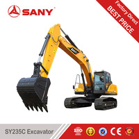 SANY SY235 25 Ton Medium Excavator Amphibious Excavator For Sale