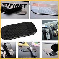 Promotional Magic Sticky PU Anti-Slip Car Pad for Cell Phone,car anti slip pad