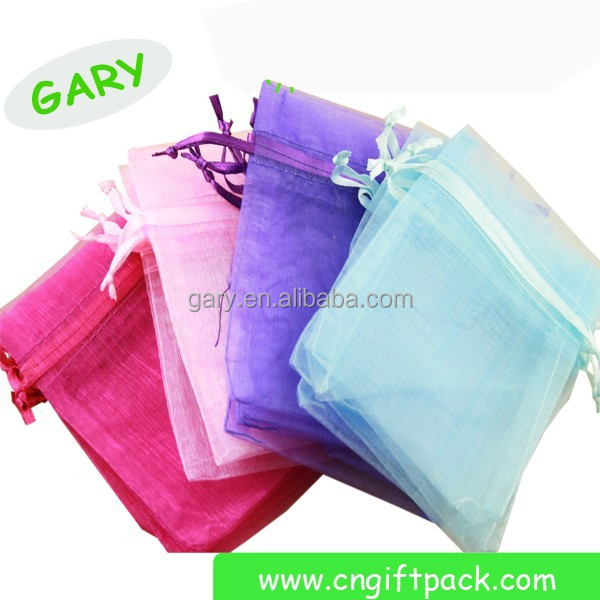 alibaba supplier Wedding Party Favor Gift sheer organza candy bags