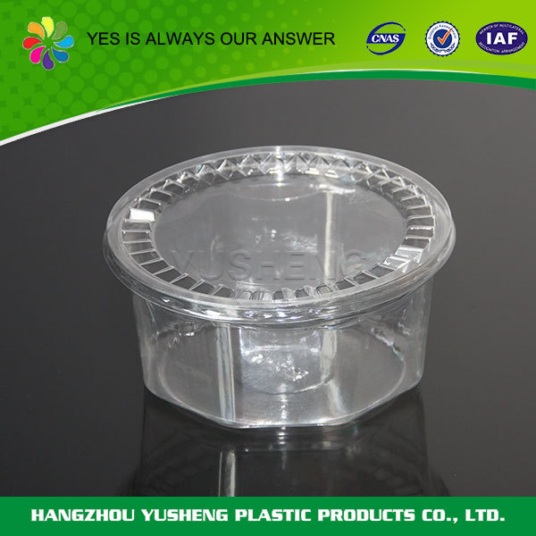 Disposable PET customized fastfood packaging