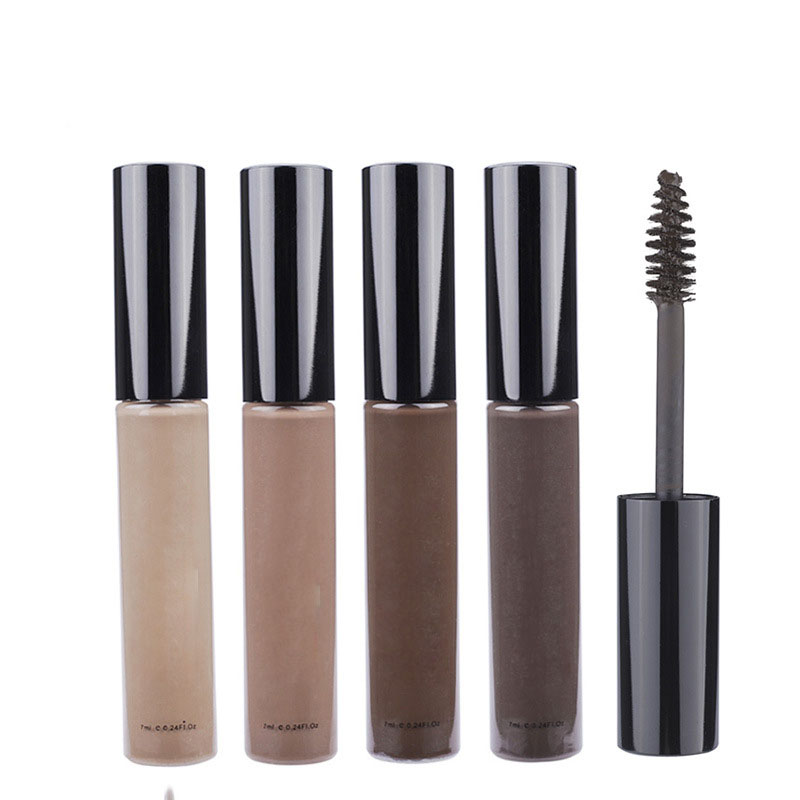 4 color natural Mascara not dizzydo durable waterproof liquid eyebrow