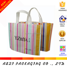 alibaba china custom reusable ultrasonic hot welding unique non woven shop bag with logo