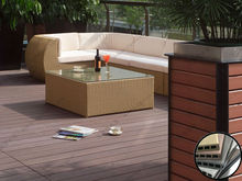 2012 New Materials Cheap WPC Outdoor Flooring