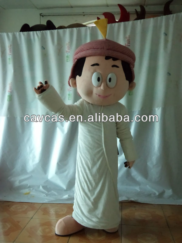 2014 Freej costume/ cartoon mascot for adult