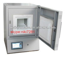 China high temperature small glass melting furnace