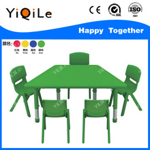 2017 new table and chair for classrooms good wooden child desk for school plastic table and chair for kids