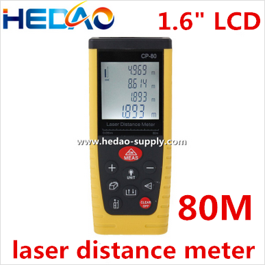 Pythagoras function height or length remote measuring laser distance meter price