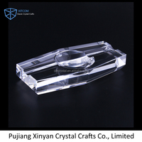 Office busniess promotional gift crystal ashtray CSA061