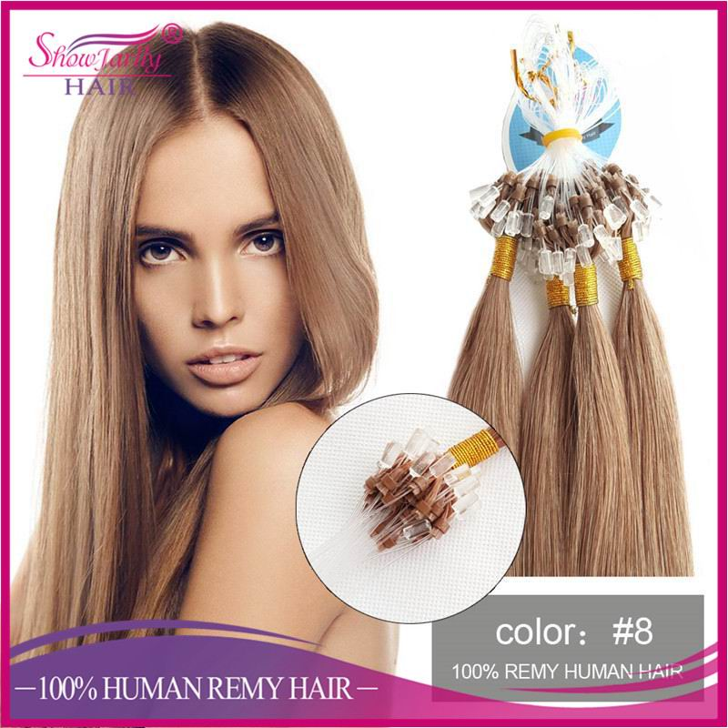 Cheap Silicone Lined Micro Rings Hair Extension100 Human Hair Extension Wholesale Pre Loop Hair