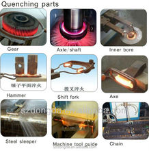 used induction heating equipment For Stainless steel pipe and copper pipe hardening