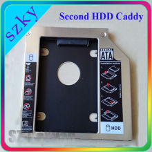 "Laptop Second HDD Caddy SATA 2.5"" 2nd Hard Drive Disk HDD/SSD Caddy"