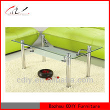 CTR-298 Cheap Tempered Glass Coffee Table