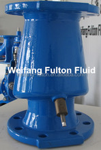 Double flange type swing check valve DN50-300 PN16 for water way pipe